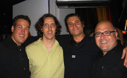 Writer Jim Colucci, Myself, Aristocrats Director Paul Provenza and Sirius Radio host Frank DeCaro