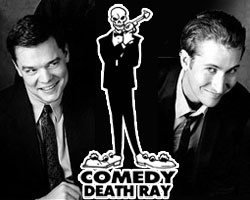 BJ Porter and Scott Aukerman, Creators of Comedy Death Ray