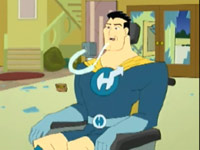 Drawn Together's Captain Hero