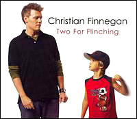 The cover art to Christian Finnegan's Two for Flinching