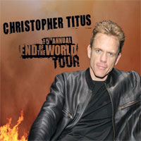 Christopher Titus new album cover