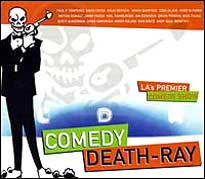 Comedy Death Ray CD Cover