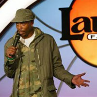 Dave Chappelle Performing Stand-Up