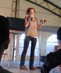 Morgan Murphy at Sasquatch