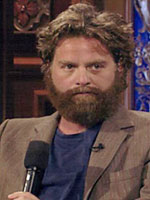 Stand-up comic Zach Galifianakis